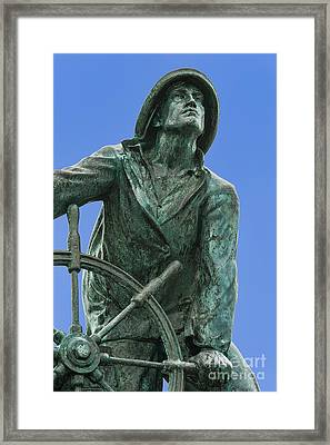 Fisherman's Memorial Framed Print by John Greim