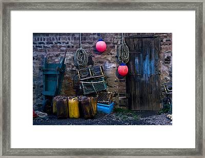 Fishermans Supplies Framed Print by John Short