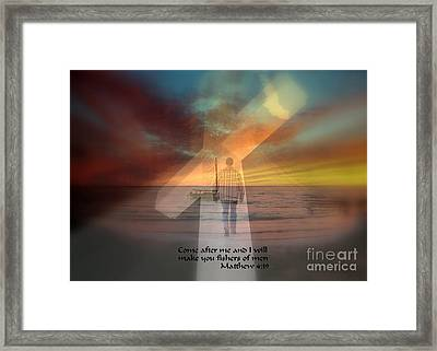Fishers Of Men Framed Print by Rick Rauzi