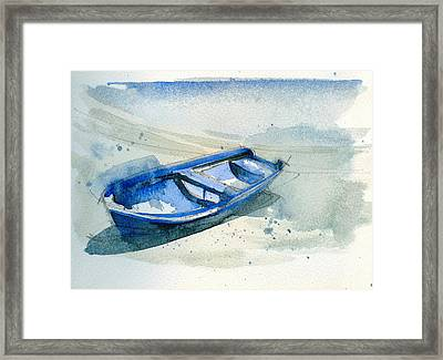 Fishing Boat Framed Print by Stephanie Aarons