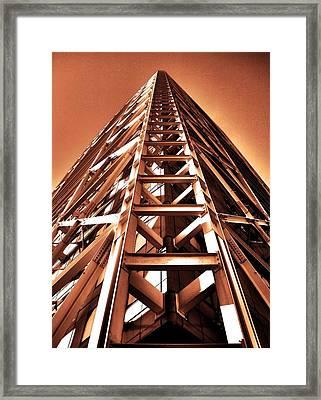 Five Stars ... Framed Print by Juergen Weiss