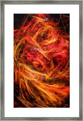 Flamboyance Framed Print by RochVanh