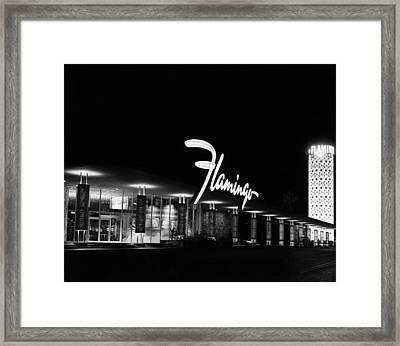 Flamingo Hotel, Las Vegas, Nevada Framed Print by Everett