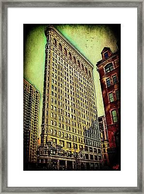 Flatiron Building Again Framed Print by Chris Lord