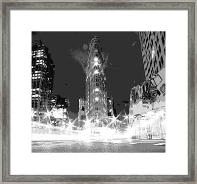 Flatiron Bw7 Framed Print by Scott Kelley