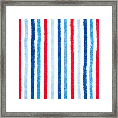 Fleece Background Framed Print by Tom Gowanlock