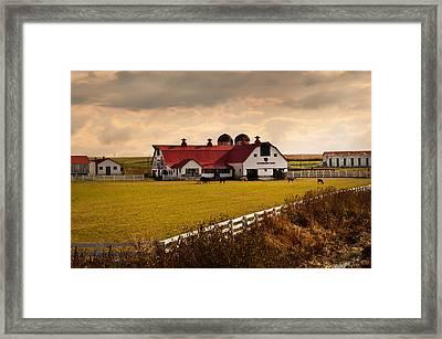 Flemingsburg Farm Ky Framed Print by Randall Branham