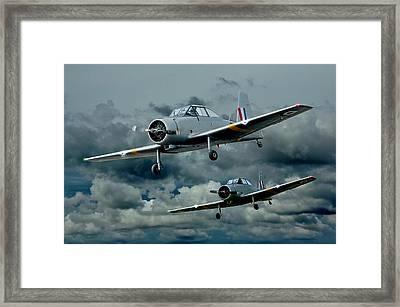 Flight Of The Winjeels Framed Print by Steven Agius
