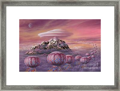 Floaters Framed Print by Lynette Cook