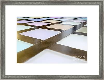 Flooring Framed Print by Andersen Ross