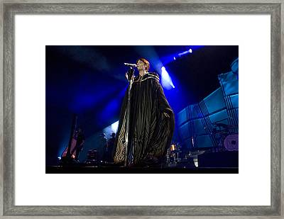 Florence And The Machine Framed Print by Jenny Potter
