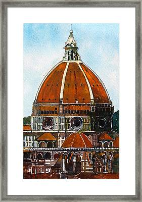Florence Cathedral Framed Print by David Carlson