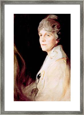 Florence Harding 1860-1924, First Lady Framed Print by Everett
