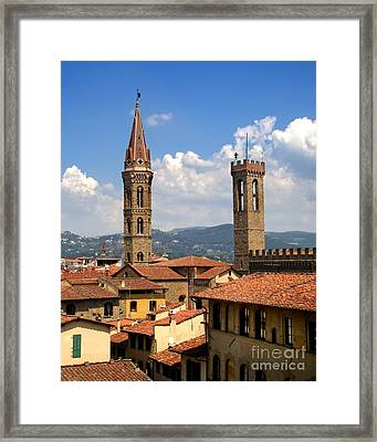 Florence Italy - 03 Framed Print by Gregory Dyer