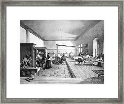 Florence Nightingale, English Nurse Framed Print by Photo Researchers, Inc.