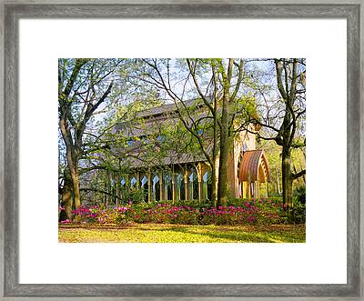 Florida The Baughman Center Framed Print by Russell Grace