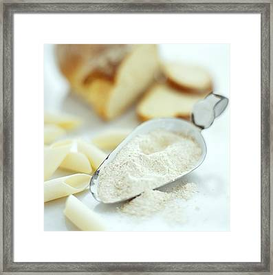 Flour Products Framed Print by David Munns
