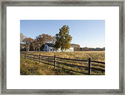 Flourtown Morning Framed Print by Bill Cannon