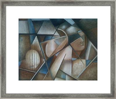 Flow Of Emotions Framed Print by Jay Massey