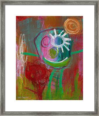 Flower Framed Print by  Abril Andrade Griffith