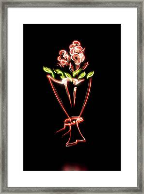 Flower Framed Print by Mxing Photography
