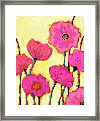 Flowers For Coralyn Framed Print by Jennifer Lommers