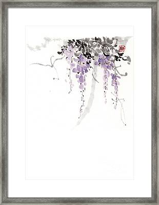 Flowers Framed Print by Japan collection