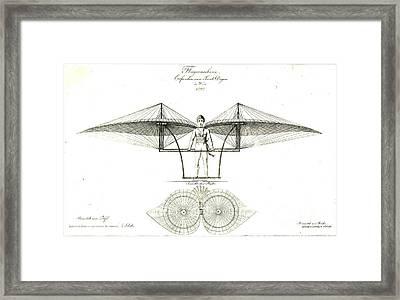 Flugmaschine 1807 Framed Print by Padre Art