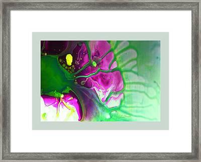 Fluidism Aspect 524 Frame Framed Print by Robert Kernodle