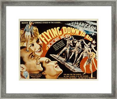 Flying Down To Rio, Fred Astaire Framed Print by Everett