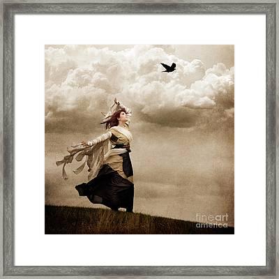 Flying Dreams Framed Print by Cindy Singleton