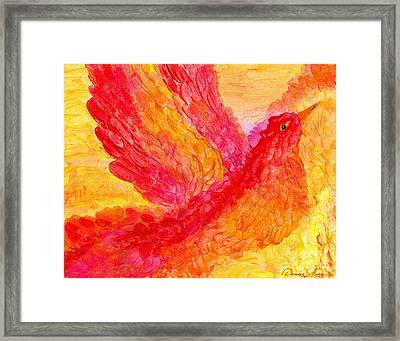 Flying Free Framed Print by Denise Hoag