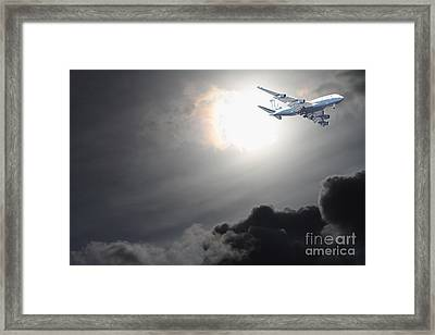 Flying The Friendly Skies Framed Print by Wingsdomain Art and Photography