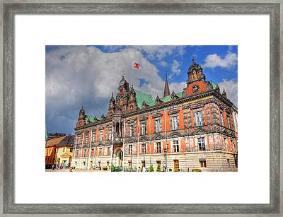 Flying Your Flag Framed Print by Barry R Jones Jr