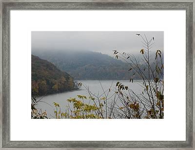 Fog Lifted Framed Print by Static Studios