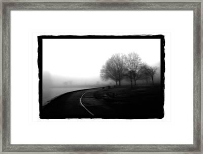 Foggy Day H-3 Framed Print by Mauro Celotti