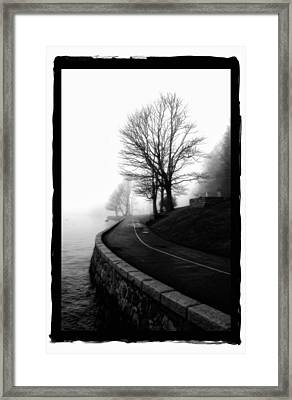 Foggy Day V-6 Framed Print by Mauro Celotti