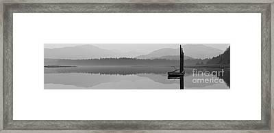Foggy Morning Framed Print by Darcy Michaelchuk