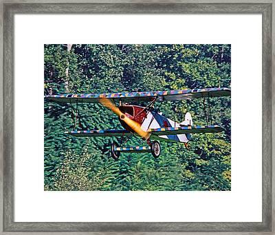 Fokker Dvii 02 Framed Print by Jeff Stallard
