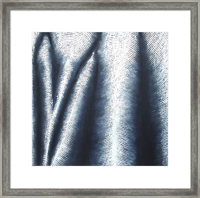 Fold Series B - Black And White Drawing Framed Print by Black and White Art Prints
