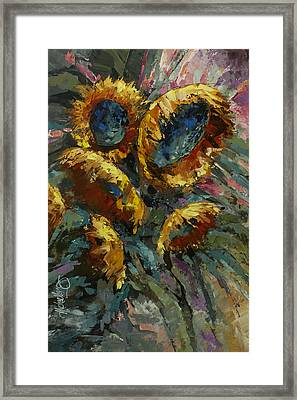 'follow The Sun 2' Framed Print by Michael Lang