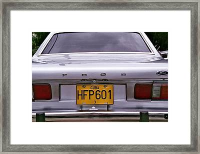 Food Ford Framed Print by Andrew Fare
