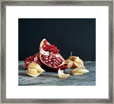 Food Still Life Framed Print by Carlo A