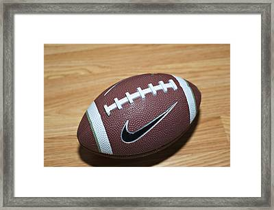 Football Framed Print by Malania Hammer