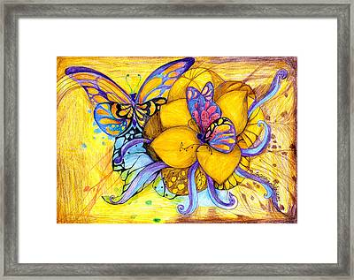 For Children Eyes Framed Print by Hong Diep Loi