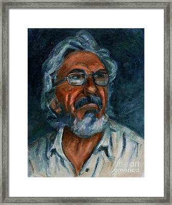 For Petko Pemaro Framed Print by Xueling Zou