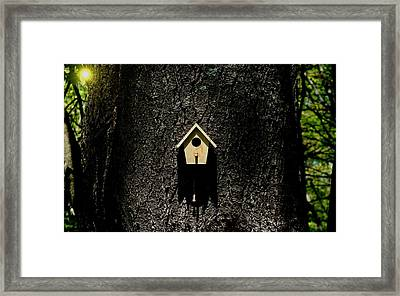 For Rent Framed Print by Barbara S Nickerson