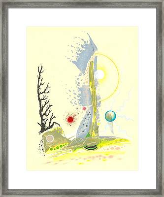 Forced Winter Framed Print by Ralf Schulze