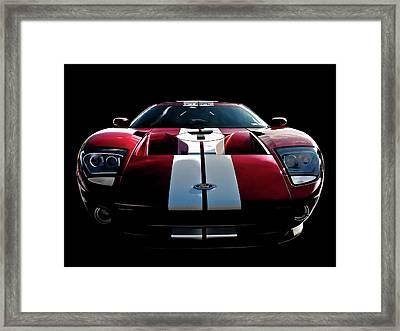 Ford Gt Framed Print by Douglas Pittman