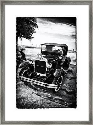 Ford Model T Film Noir Framed Print by Bill Cannon